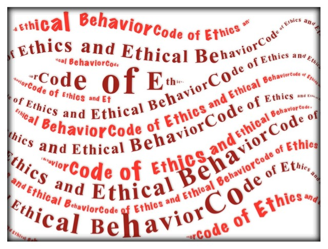 company code of ethics template - preparing a code of ethics sami malallah 39 s blog